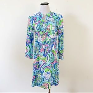 Lilly Pulitzer Women's Pintuck Pleated Tunic Dress